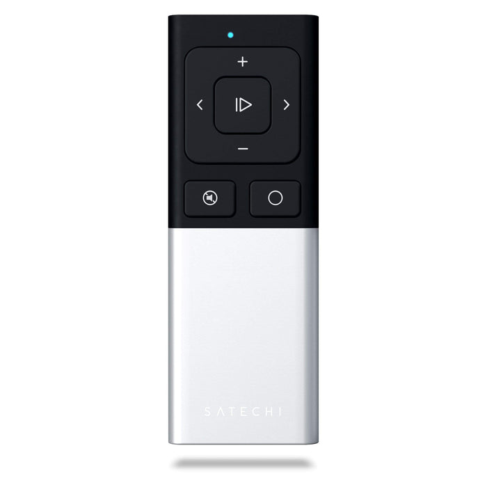 Aluminum Wireless Remote Control Remotes Satechi Silver