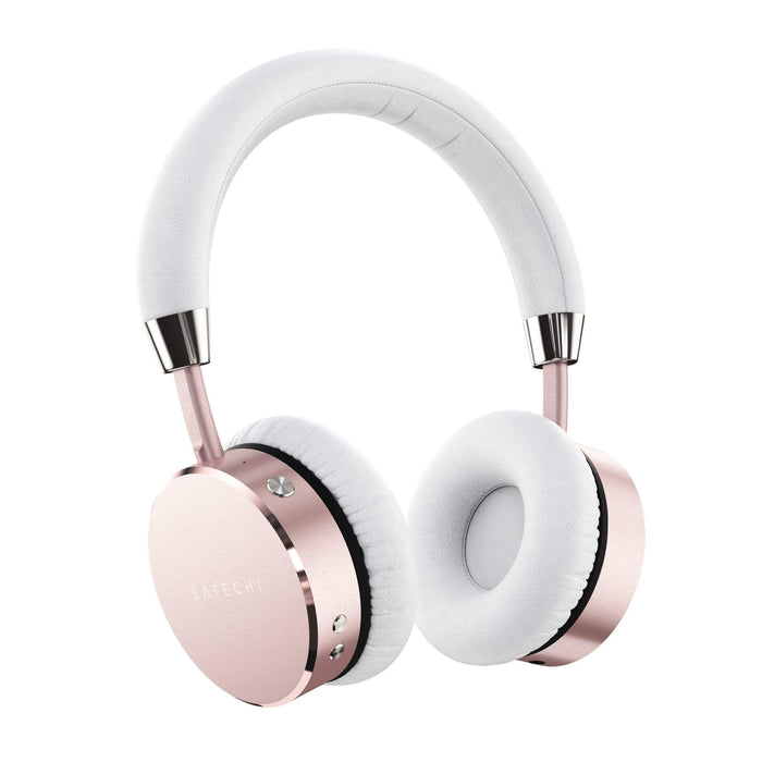 Bluetooth Aluminum Wireless Headphones Headphones Satechi Rose Gold