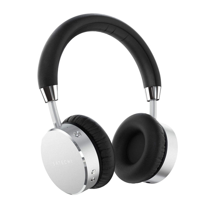 Bluetooth Aluminum Wireless Headphones Headphones Satechi Silver