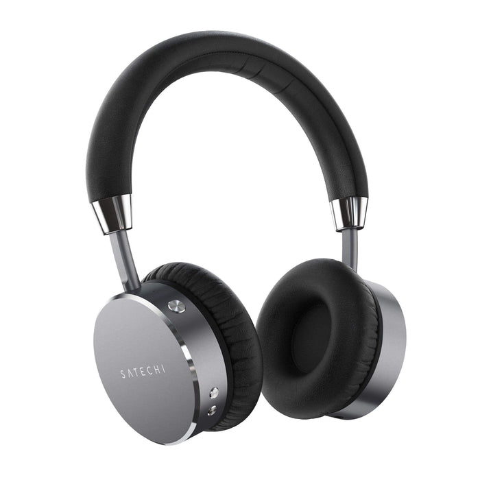 Bluetooth Aluminum Wireless Headphones Headphones Satechi Space Gray