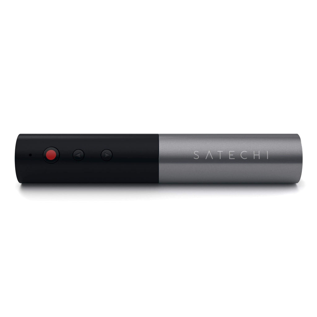 Bluetooth Aluminum Wireless Presenter Presenters Satechi Space Gray