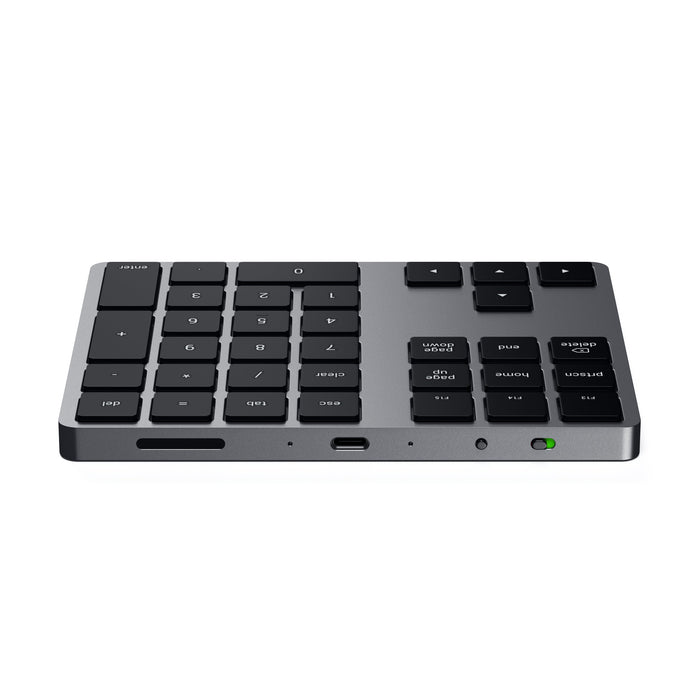 Bluetooth Extended Keypad Keypads Satechi Space Gray