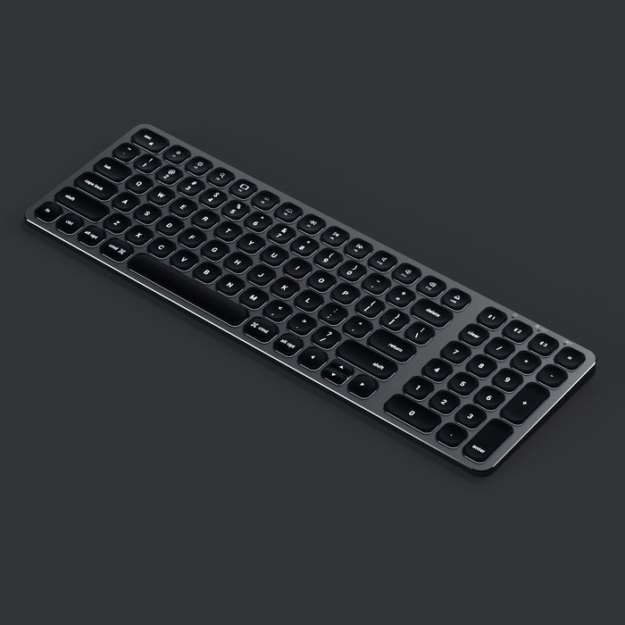 Compact Backlit Bluetooth Keyboard Keyboards Satechi
