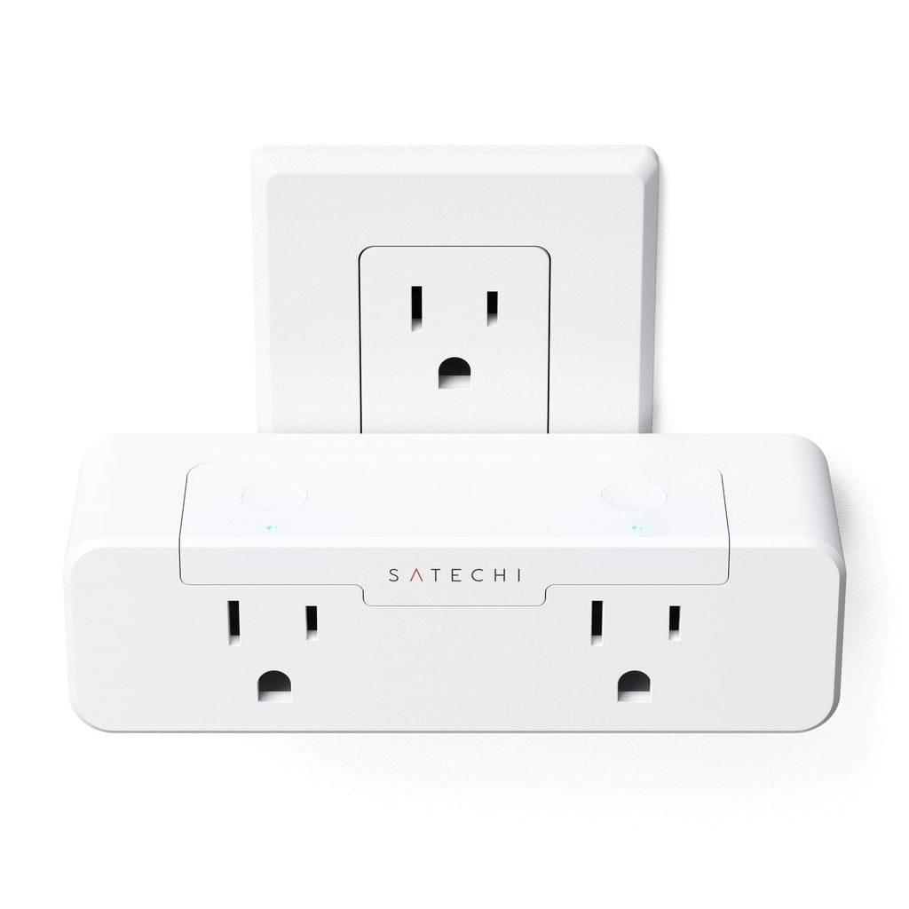 Dual Smart Outlet - Works with Apple HomeKit Wall Chargers Satechi USA