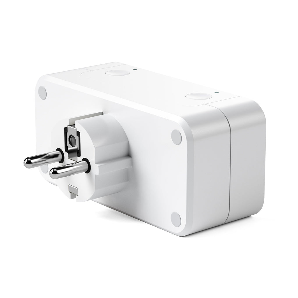 Dual Smart Outlet - Works with Apple HomeKit Wall Chargers Satechi EU