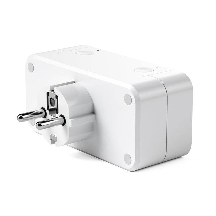 Dual Smart Outlet - Works with Apple HomeKit Wall Chargers Satechi