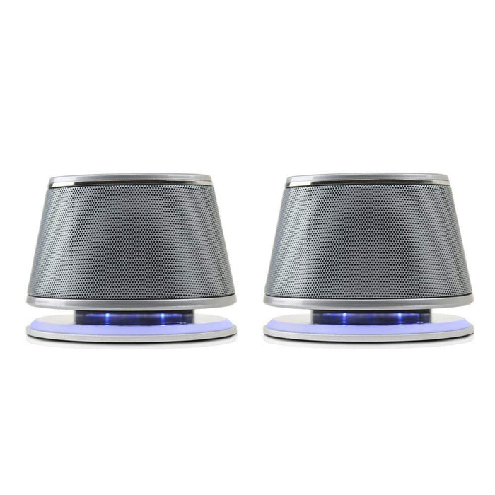 Satechi Dual Sonic Speaker 2.0 Channel Computer Speakers for iMac+Brand New.....