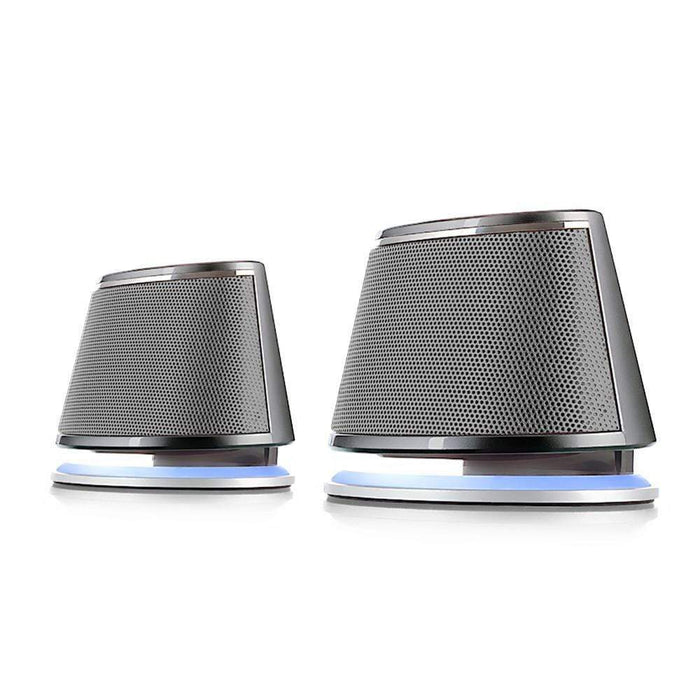 Dual Sonic Speakers Speakers Satechi Silver
