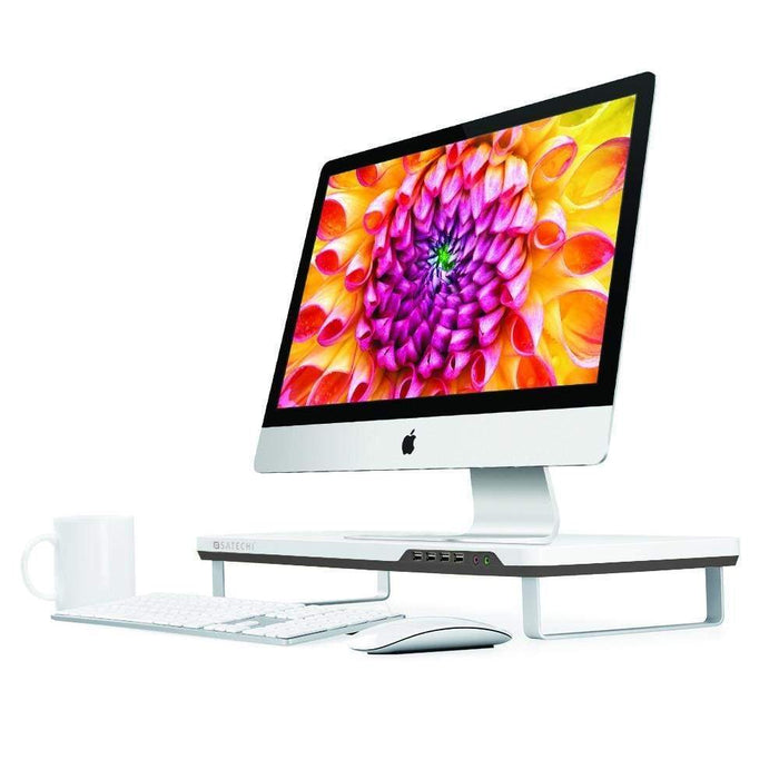 F3 Smart Monitor Stand Computers/ Monitors Satechi White