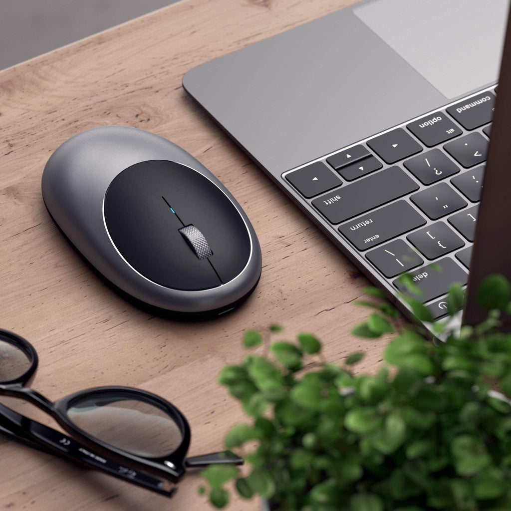 M1 Wireless Mouse Mice Satechi Space Gray