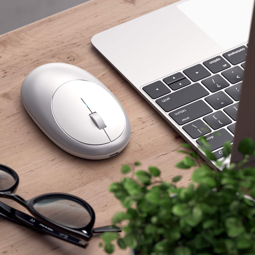 M1 Wireless Mouse Mice Satechi Silver