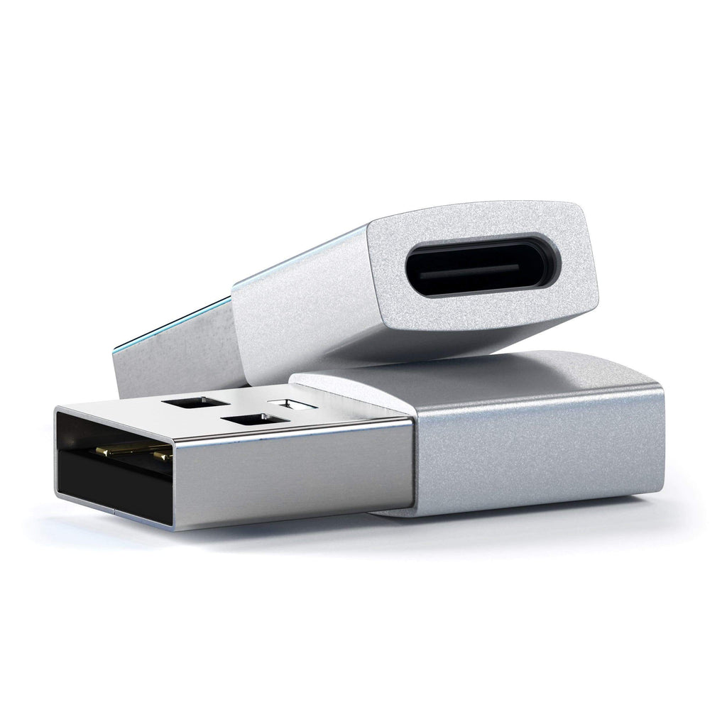 Type-A to Type-C Adapter USB-C Satechi Silver