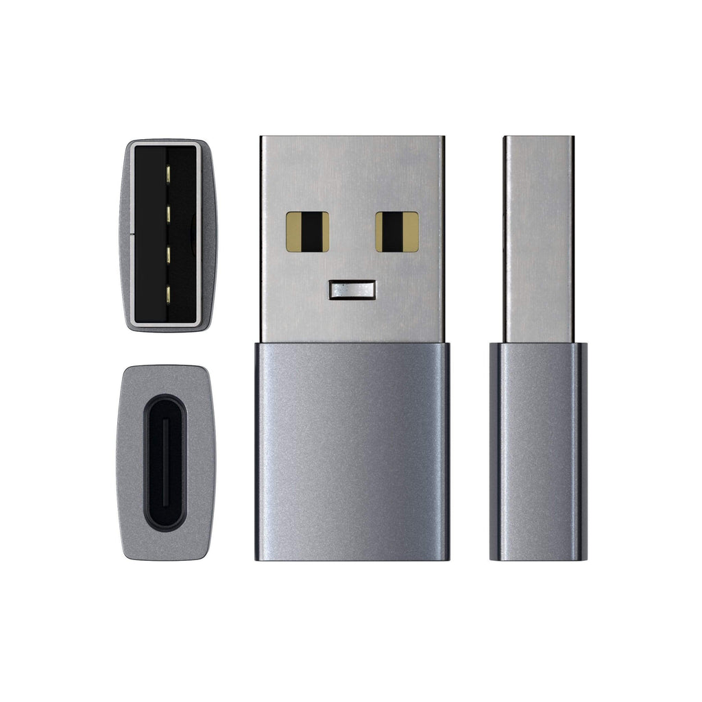 Type-A to Type-C Adapter USB-C Satechi Space Gray