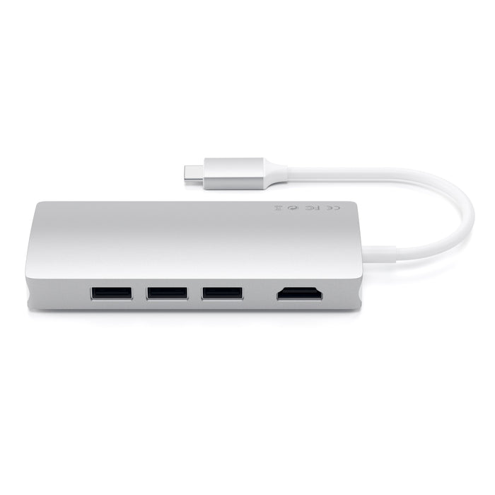 Type-C Multi-Port Adapter 4K with Ethernet V2 Adapters Satechi