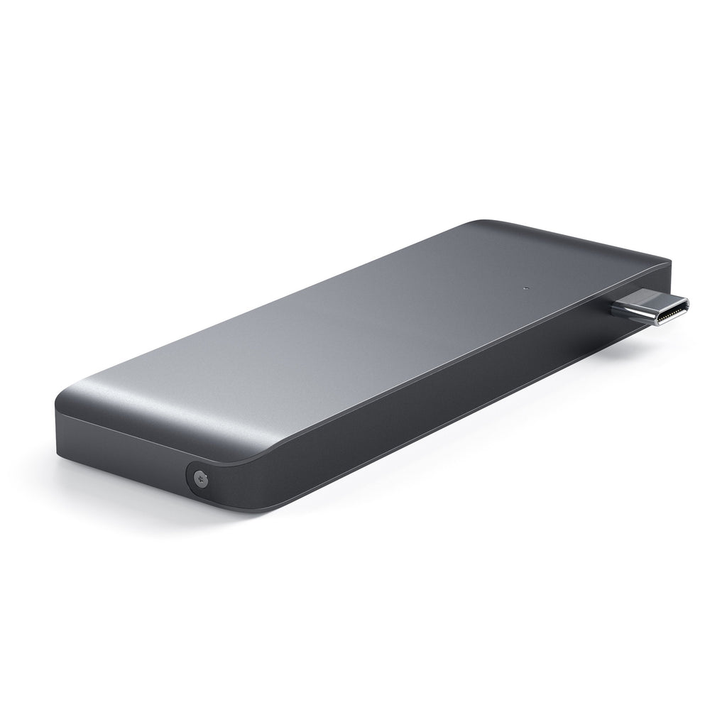 Type-C Pass-Through USB Hub Hubs Satechi Space Gray