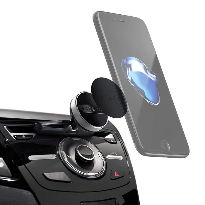 Universal Smartphone CD Slot Magnet Mount Car Mounts Satechi