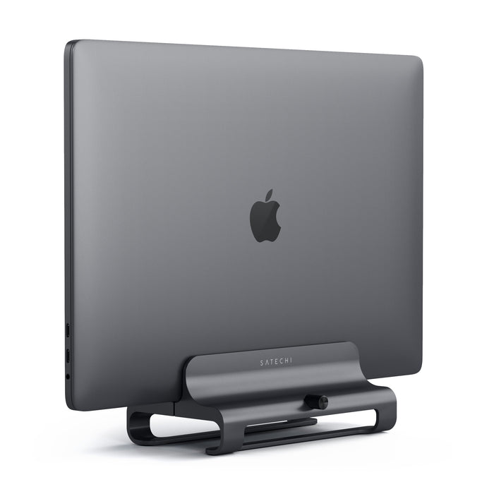Universal Vertical Aluminum Laptop Stand Desktop Satechi Space Gray