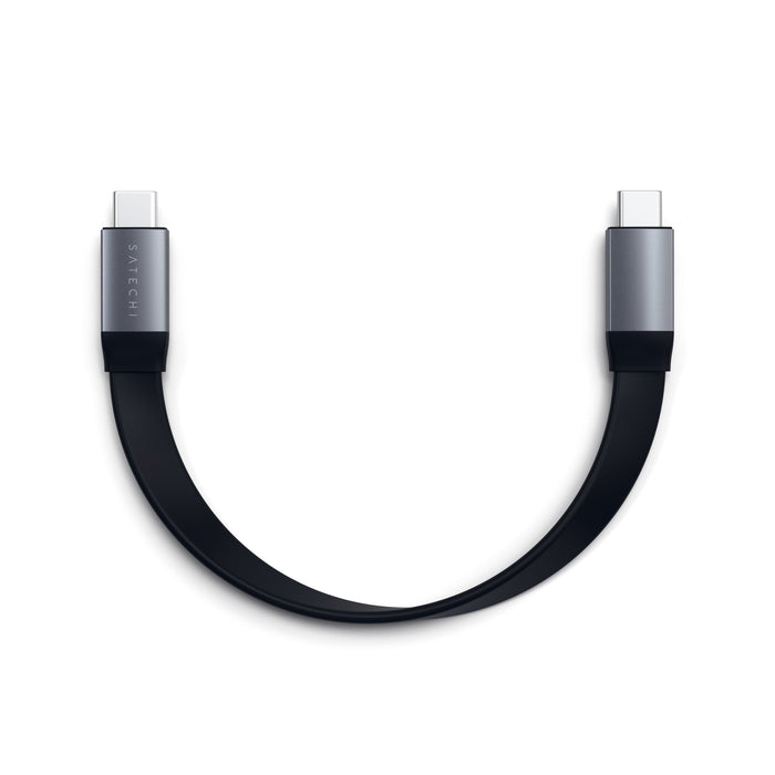 USB-C to USB-C Gen 2 Flat Cable Cables Satechi