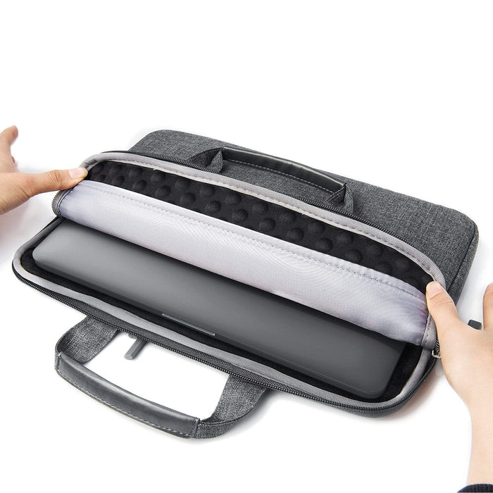 Water-Resistant Laptop Carrying Case with Pockets Other Satechi