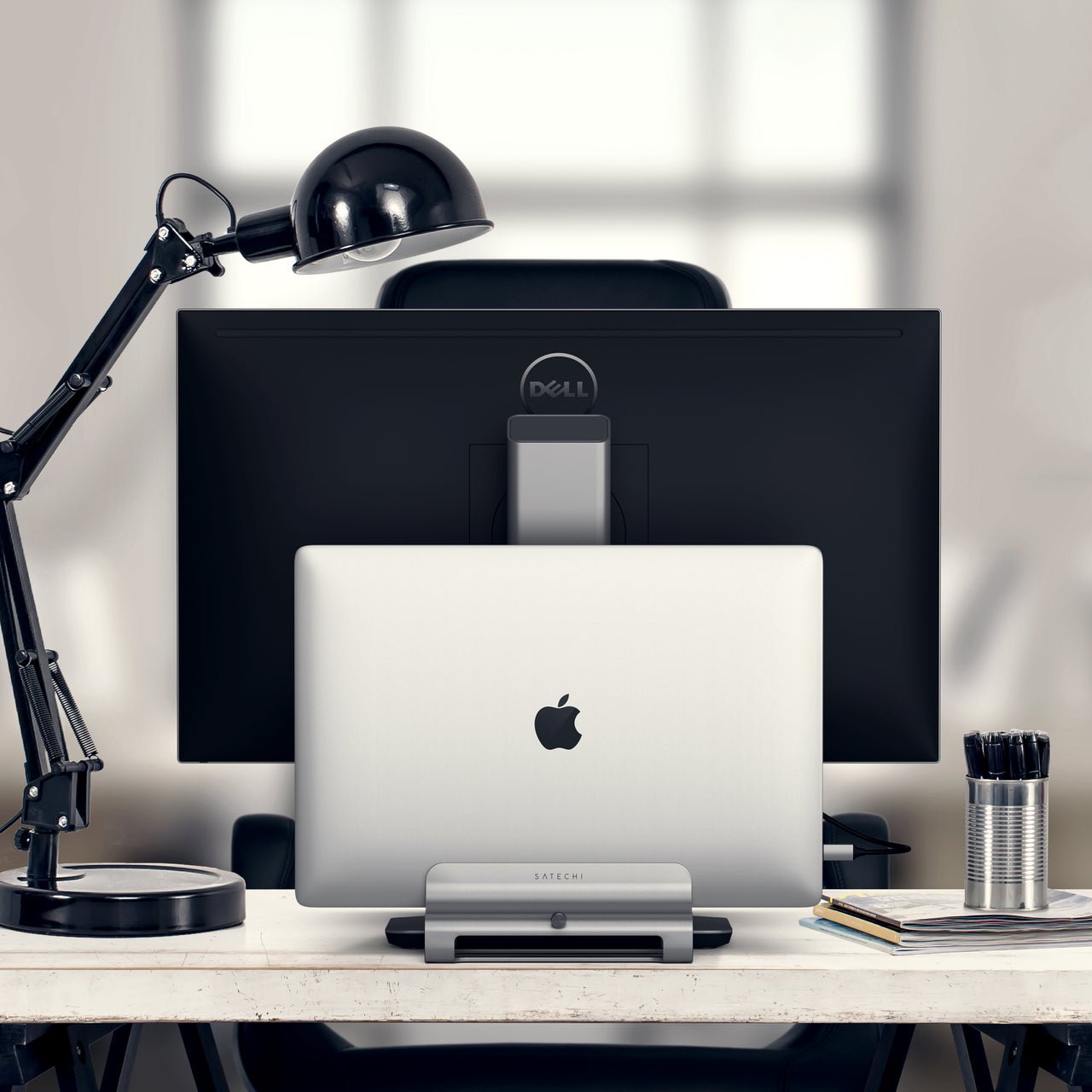 Universal Vertical Laptop Stand