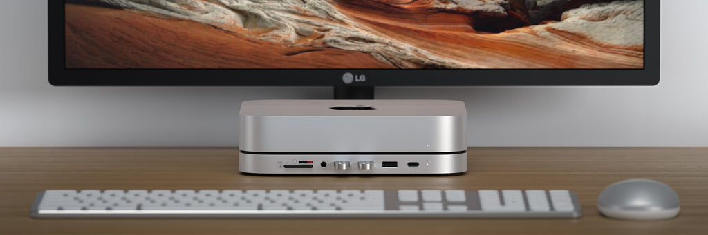 Stand & Hub for Mac Mini with SSD Enclosure