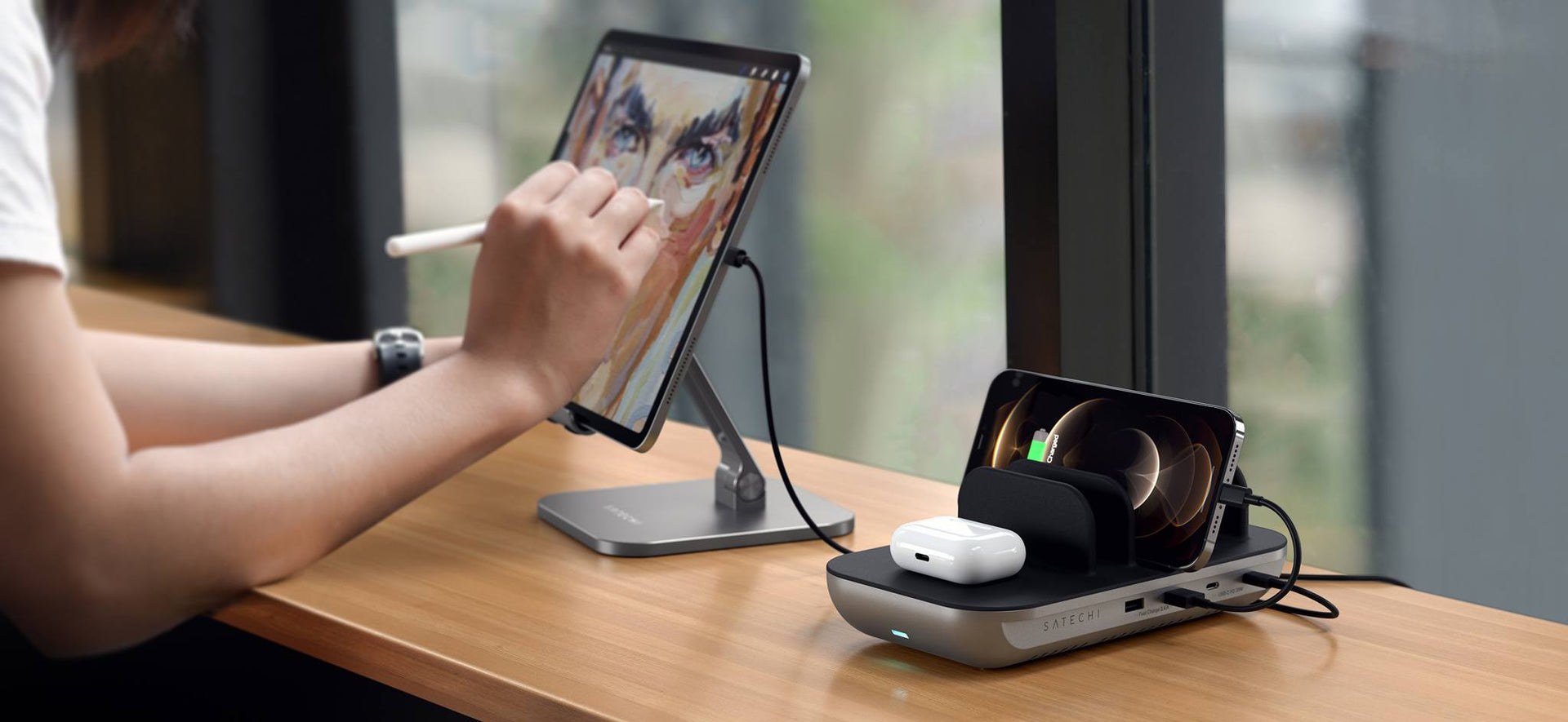 Dock5 Multi-Device Charging Station