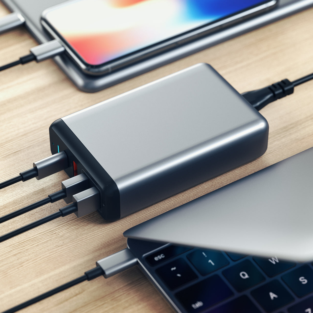 Type-C 75W Travel Charger
