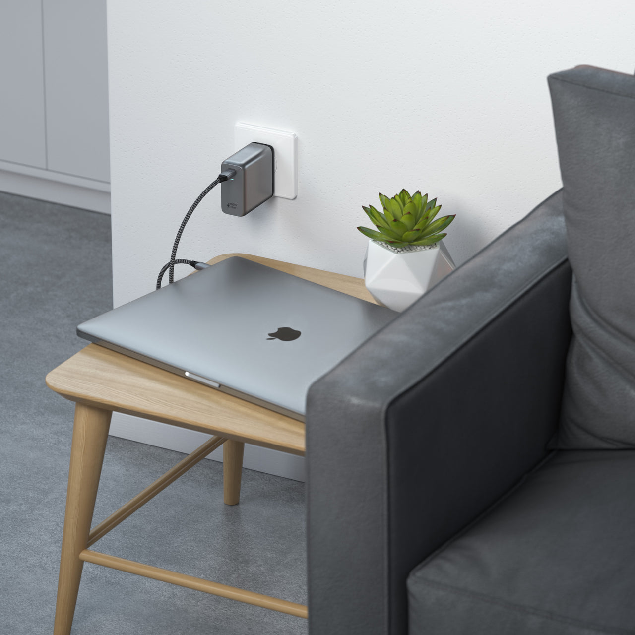 100W USB-C PD Wall Charger