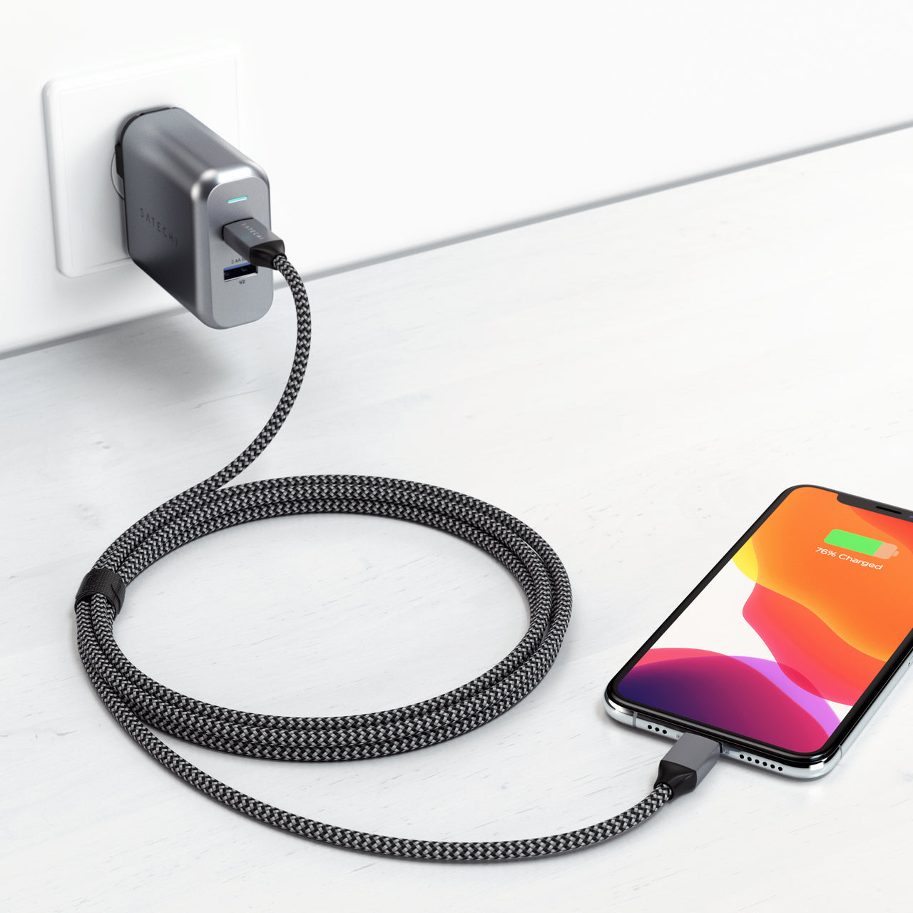USB-C to Lightning Cable - Apple MFi Certified
