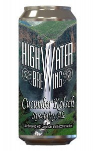High Water Cucumber Kolsch - 4 pk 16oz Cans