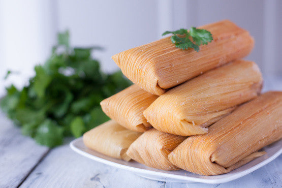 Beef Tamales - 1/2 Dozen - Serves 2 or more