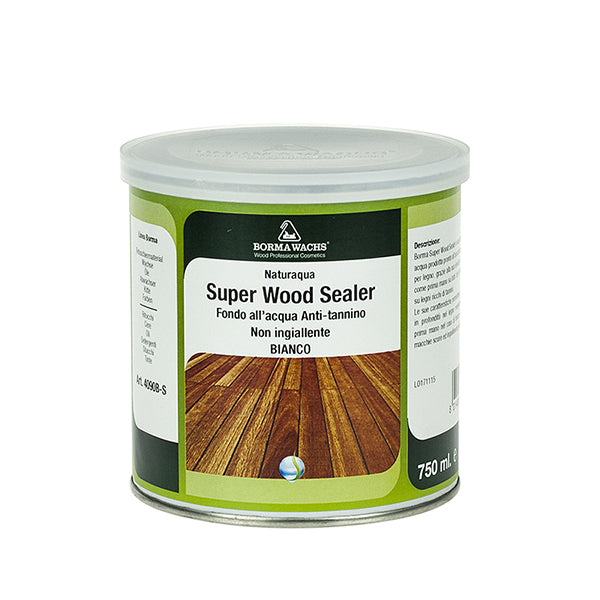 Naturaqua Super Wood Sealer Transparent - Su Bazlı Ahşap Astarı Transparan (Anti-tanin)