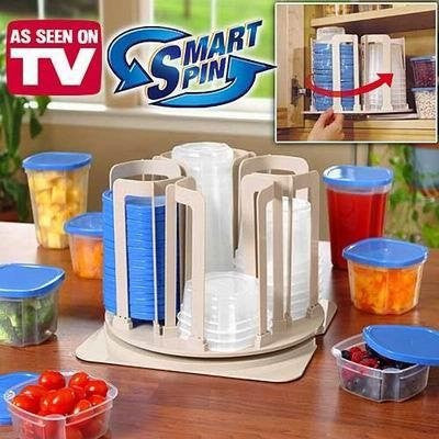 Smart Spin Storage Containers