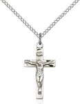 Sterling Silver Crucifix - St. Mary's Gift Store