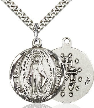 Miraculous Medal - Round - St. Mary's Gift Store