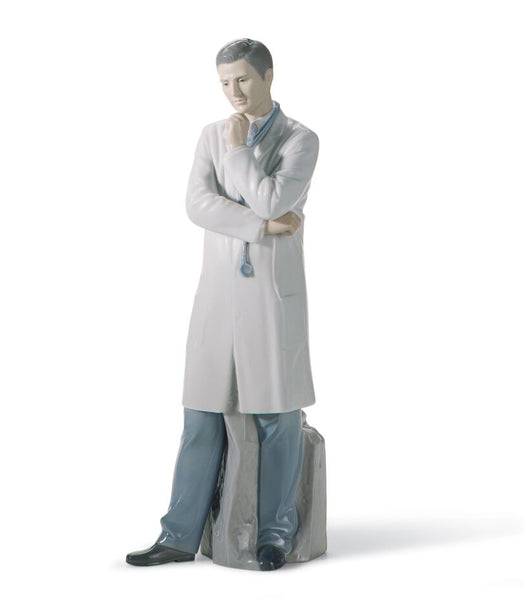Male Doctor Fine Porcelain Figurine - Lladro