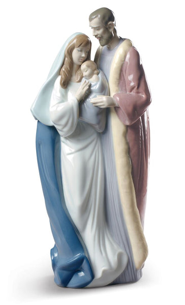 "13"" Blessed Family Figurine"
