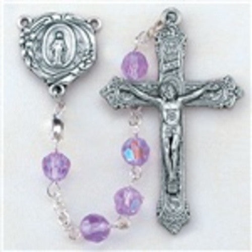 Alexandrite Rosary - St. Mary's Gift Store