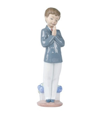 Time to Pray -  Porcelain Figurine by NAO
