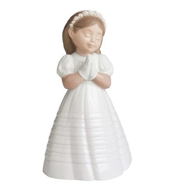 My First Communion - Porcelain Figurine