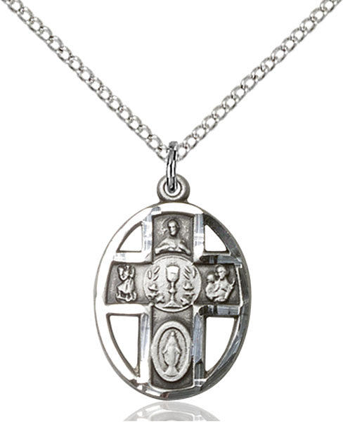1st Communion 5-Way / Chalice Pendant - St. Mary's Gift Store