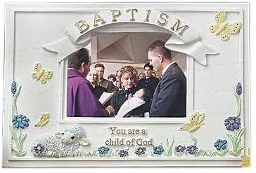 Baptism Picture Frame, Child of God