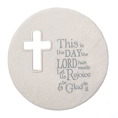 """This Is The Day the Lord has Made"" Plaque, 8 3/4 inches"