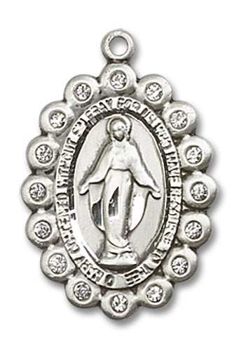 Miraculous Medal - Oval - St. Mary's Gift Store