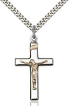 Gold Filled on Sterling Silver Pendant - St. Mary's Gift Store