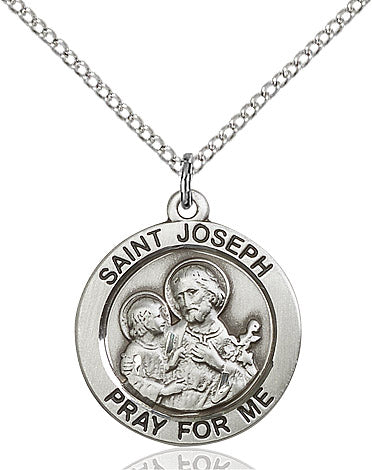 St. Joseph Medal - Round - St. Mary's Gift Store