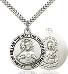 Round Scapular of the Sacred Heart of Jesus - St. Mary's Gift Store
