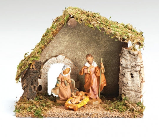 "Fontanini 3 Piece Nativity Scene- 5"" inch Scale Starter Set"