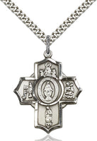 Sterling Silver 5-Way Apparitions - St. Mary's Gift Store