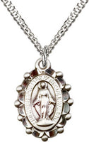 Miraculous Medal with Filigree Edges - St. Mary's Gift Store